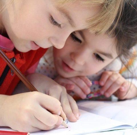 child achieving at school